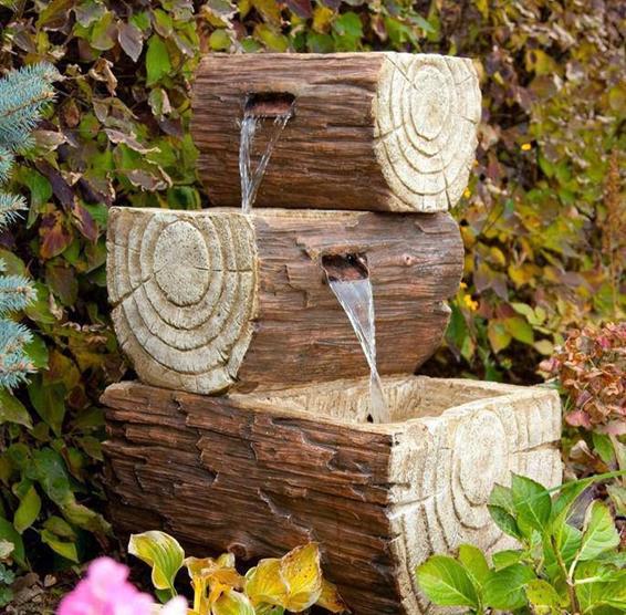 wooden garden fountains 3