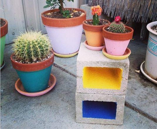 yard cinder block 1
