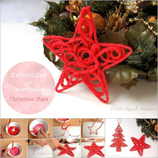 yarn-Christmas-star